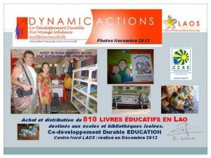 ACTIONS 2013 LIVRES EDUCATIFS